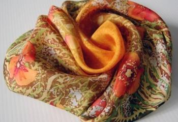 Как сшить шейный платок