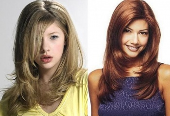 как можно подстричь длинные волосы фото