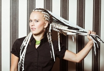 Африканские косички – модная прическа