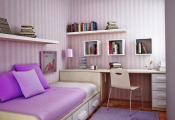 Как сделать уютной маленькую и темную комнату