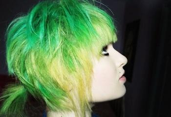Как смыть зелёный оттенок с волос