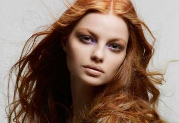 Какие волосы можно красить в рыжий