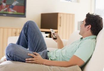 Как согнать мужа с дивана