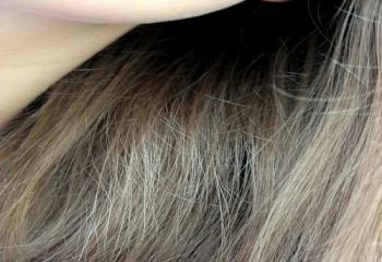 Как уложить густые волосы