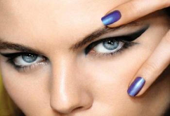 Как подводить красиво глаза