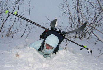 Как укоротить лыжные палки