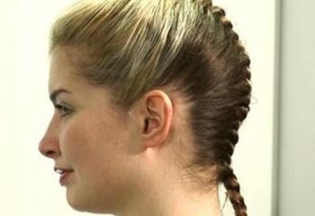 Как плести французские косы