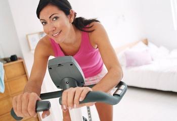 Как заниматься на велотренажёре