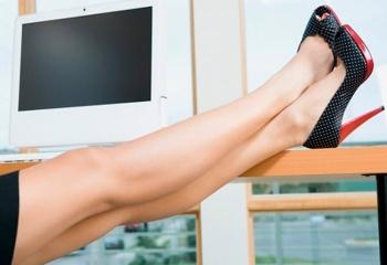 Как убрать сосудистую сетку на ногах