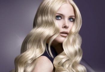 Как осветлить волосы и убрать желтизну