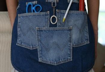 Как переделать старые джинсы