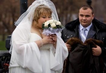 полные невесты фото со свадеб