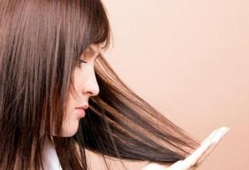 Как остановить седение волос