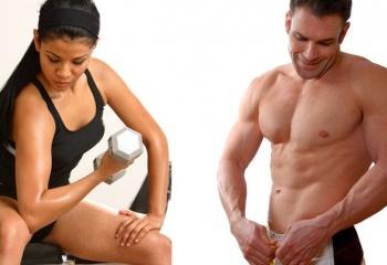 Упражнения с гантелями для мышц рук