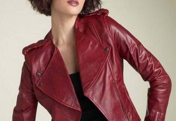 Звездный стиль: кожаные куртки