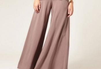 Широкие штаны: с чем и как носить