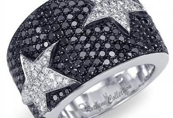 Украшения с черными бриллиантами