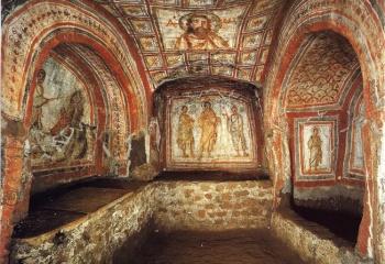 Катакомбы Рима-древниезахоронения под землей