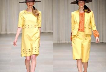 С чем носить желтый пиджак