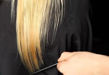 Лечение волос горячими ножницами
