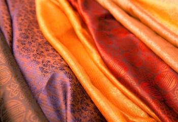 шелк для одежды интернет-магазин