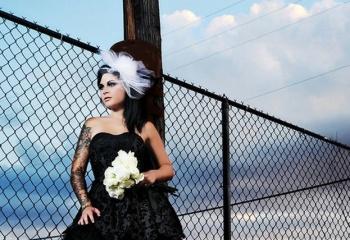 Черное свадебное платье: верх изящества или вызов обществу?