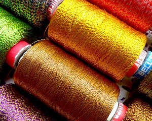 Металлизированные волокна и нити