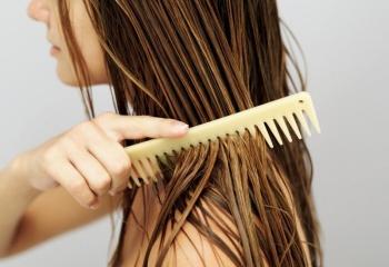 Питательная маска для волос с репейным маслом