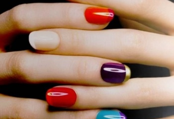 Модный маникюр для коротких ногтей