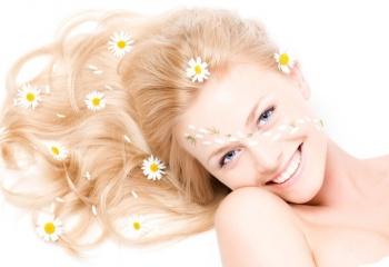 Правильный уход за осветленными волосами
