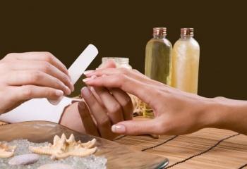 SPA-маникюр для коротких ногтей