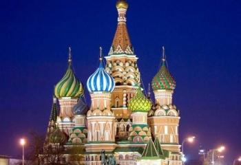 Карта достопримечательностей Москвы