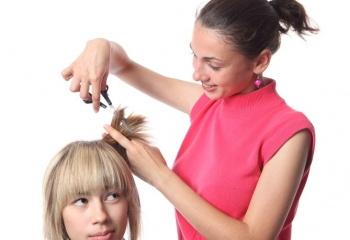 Креативные прически: женская молодежная стрижка