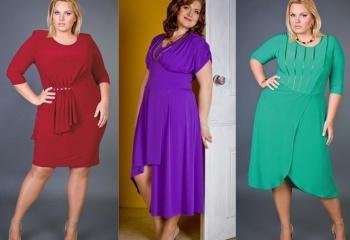 Сшить платье на полную женщину фасоны