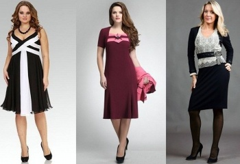 Фасоны и фото женских платьев