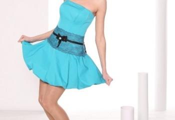 Модные фасоны платьев: весна-лето 2013