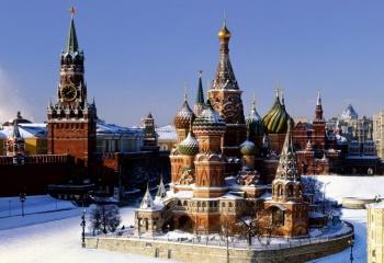 Новогодние каникулы: прогулка по Москве