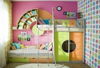 фото детских комнат для разнополых детей