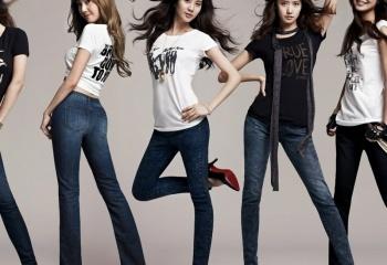 Модные джинсы 2013: женские модели