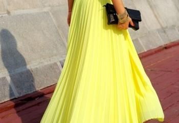 Длинные юбки 2013: весенняя мода в самом разгаре