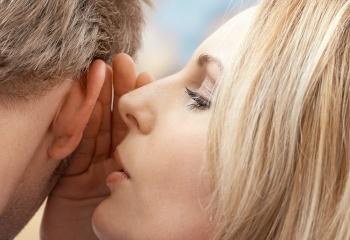 Слова, которые возбуждают мужчин: скажи ему на ушко