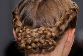 Как плести волосы по кругу