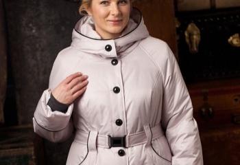 Зимняя одежда для полных женщин: тепло и красиво