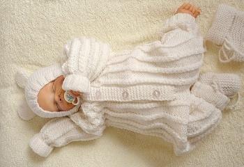 Детские вещи для новорожденных вязанные крючком