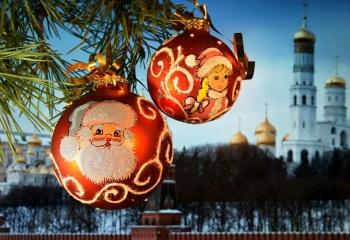 Огни большого города: Новый год 2014 в Москве