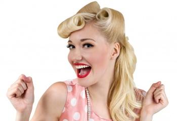 Символ женственности и стиля - ретро-прически 40-х годов