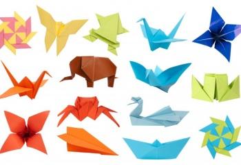 Учимся создавать объемные фигуры из бумажных модулей