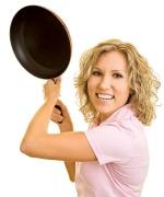 Как очистить нагар на сковороде