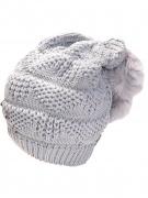 Вязанные шапки спицами сегодня