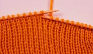 Вязание на спицах протяжка